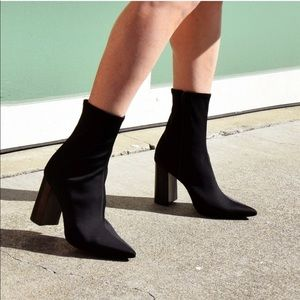 Jeffrey Campbell Soren Sock Boot - 8